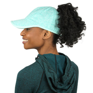 Heathered Active Ponyflo® Cap