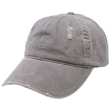 Load image into Gallery viewer, Distressed Cotton Ponyflo® Cap