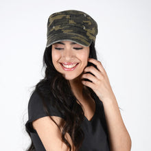 Load image into Gallery viewer, Distressed Camo Cadet
