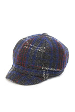 Load image into Gallery viewer, JCCAB2785 - Wool Blend Plaid News Boy Cabbie