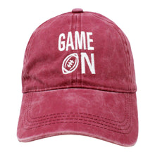 Load image into Gallery viewer, Game On Baseball Cap