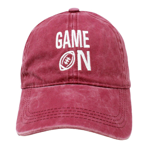 Game On Baseball Cap