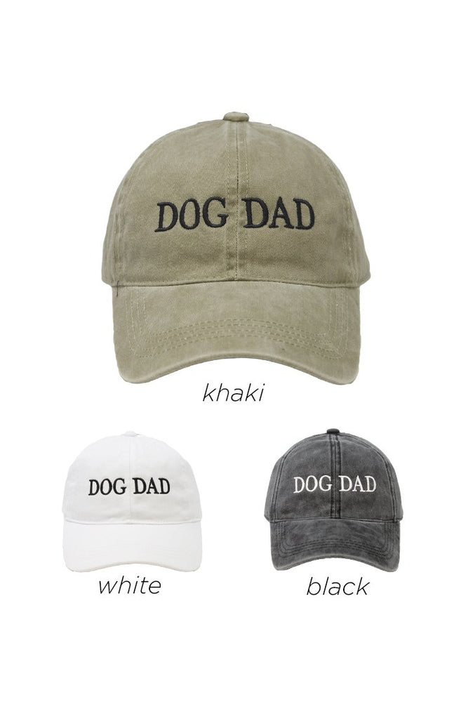 Dog Dad Baseball Cap