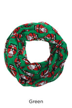 Load image into Gallery viewer, PTINF03575 - Chubby Santa Infinity Scarf