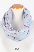 "Load image into Gallery viewer, PTINF8015 - ""HAPPY HOLLA DAYS"" Infinity Scarf"