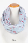 "PTINF8015 - ""HAPPY HOLLA DAYS"" Infinity Scarf"
