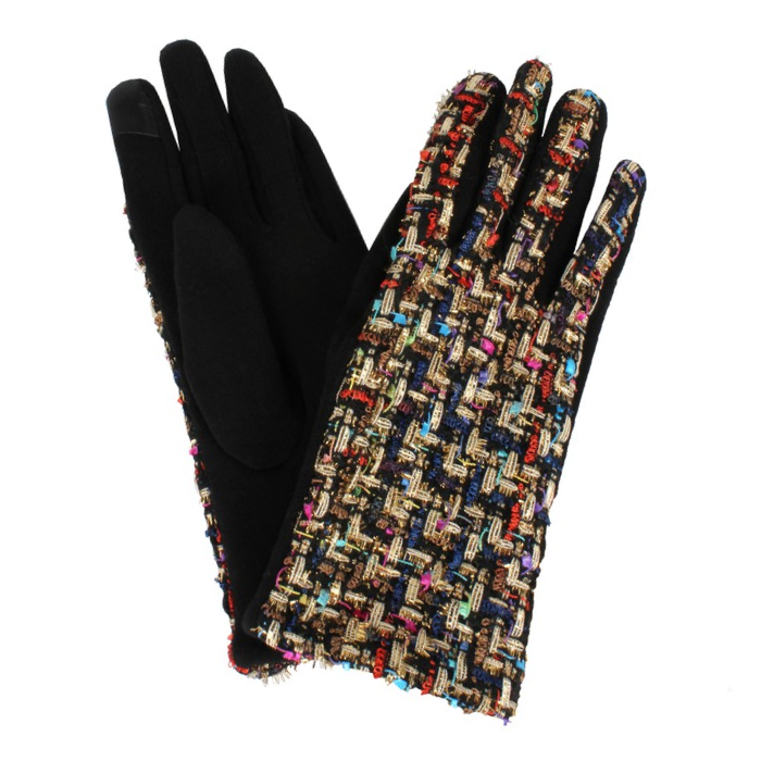 Tweed Woven Gloves