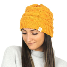 Load image into Gallery viewer, Recycled Knit Beanie - ABB408R
