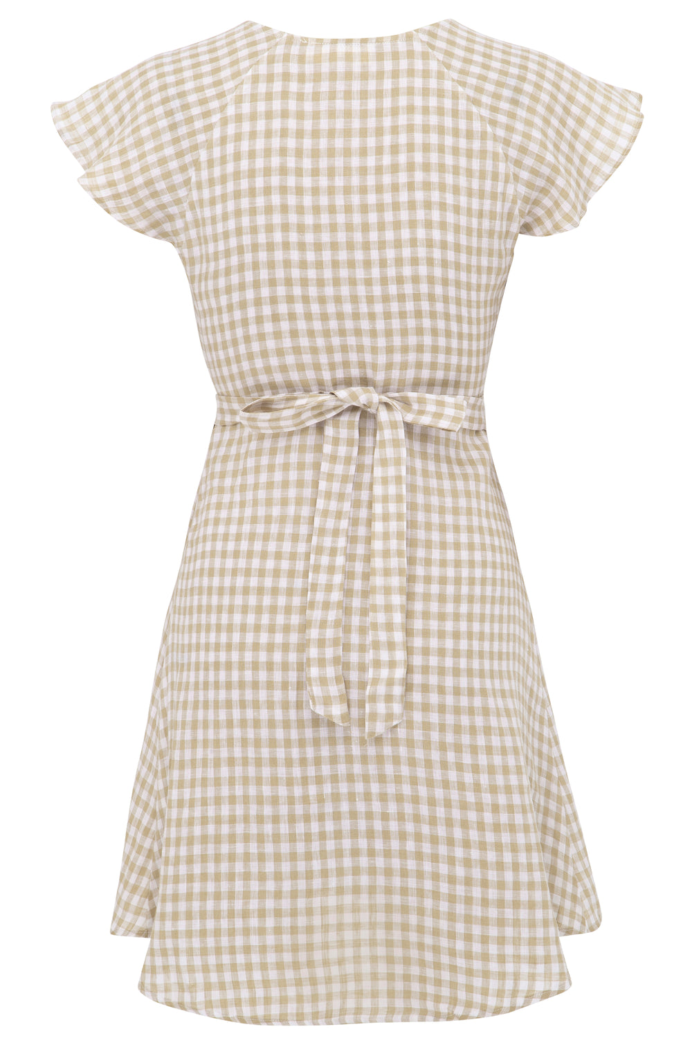 Alice Gingham Wrap Dress