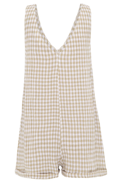 Alice Gingham Playsuit