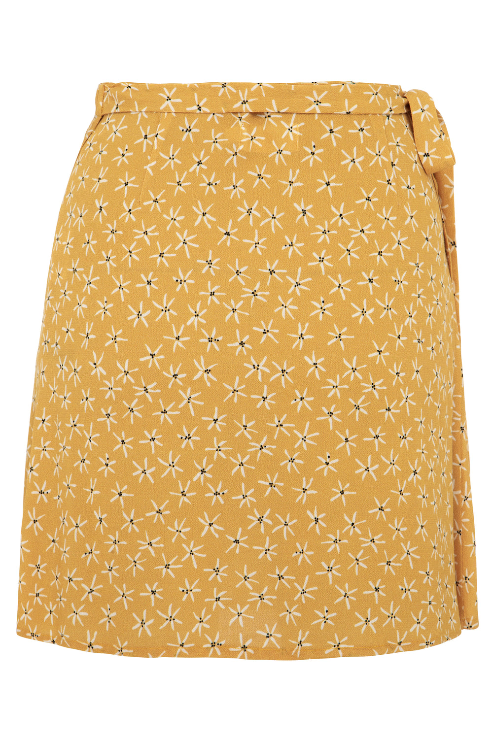 Goldie Wrap Mini Skirt
