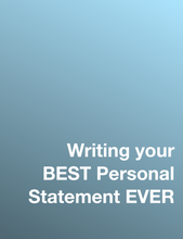 Load image into Gallery viewer, Writing Your BEST Personal Statement EVER: A Guide (Includes my own Personal Statement + Personal Statement Checklist)