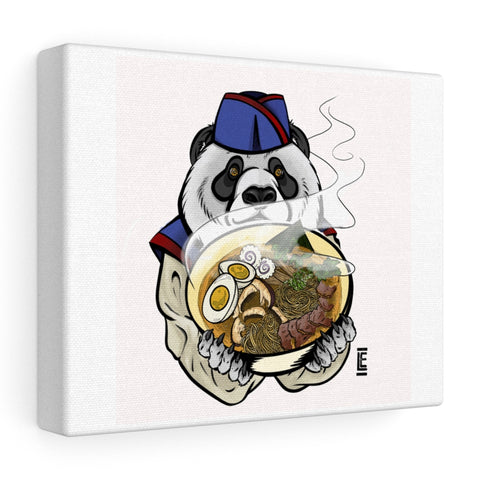 Jen's Panda Stretched canvas - Ikonic Apparel