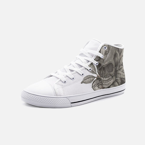Potts Custom Unisex High Top Canvas Shoes - Ikonic Apparel