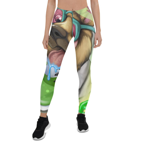 "COVID Scientist by John "" Bird "" Women's Leggings - Ikonic Apparel"