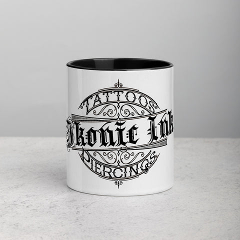 Ikonic Ink Mug with Color Inside - Ikonic Apparel
