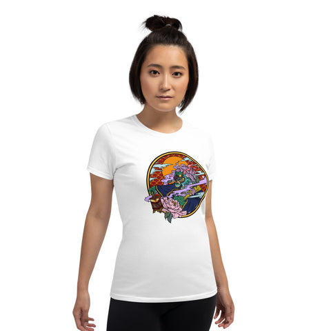 Jen's Dragon Tattoo Art Women's short sleeve t-shirt - Ikonic Apparel