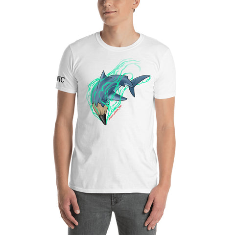 SE Design PencilShark Short-Sleeve Unisex T-Shirt - Ikonic Apparel