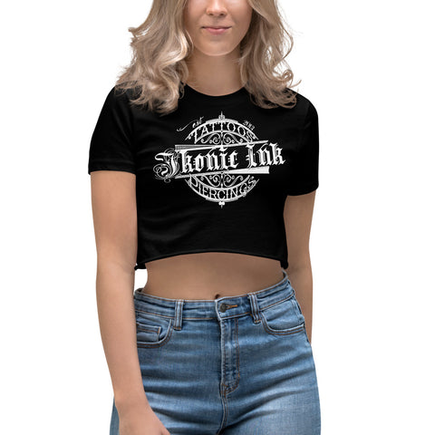 Ikonic Ink Women's Crop Top - Ikonic Apparel