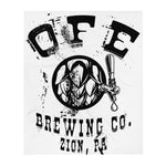 OFE Brewery Throw Blanket
