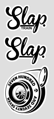 Slap Train Sticker Pack (2 Sizes)