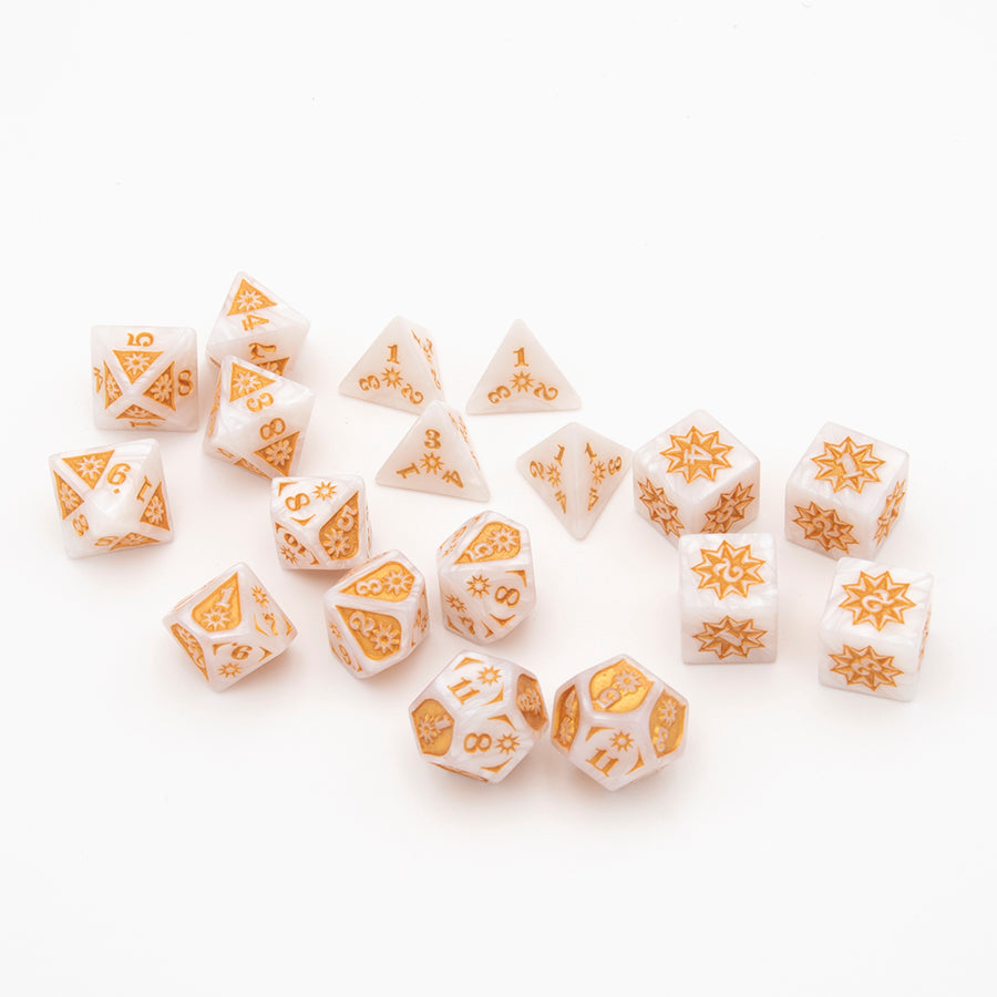 Damage Dice: Full Set (10 Damage Types)