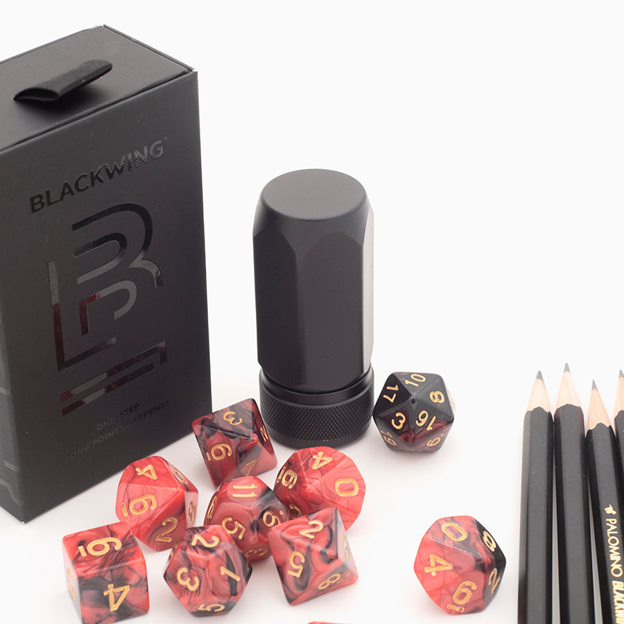 Blackwing One-Step Aluminum Long Point Sharpener