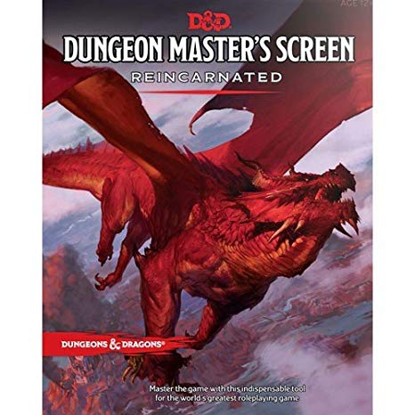 DM Screen: Red Dragon
