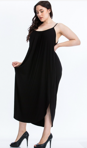 love it or leave it curvy maxi dress