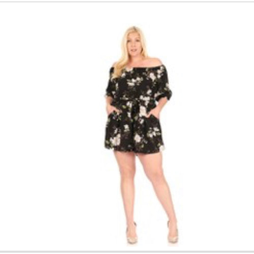Bloom Curvy Romper