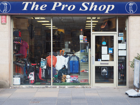 The Pro Shop Retail Store in St Andrews