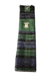 Old Course St Andrews Tartan Tri-fold Golf Towel