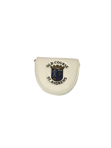 Old Course St Andrews Leatherette Mallet Putter Cover