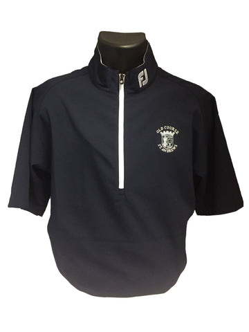 Old Course St Andrews FootJoy Men's Performance Half-Zip Windshirt