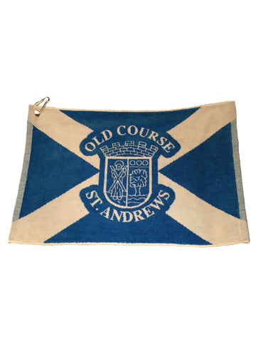Old Course St Andrews Large Saltire Golf Towel