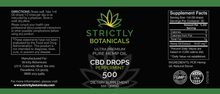 Load image into Gallery viewer, Strictly Botanicals DELUXE KIT (500 MG Tincture, Oral Sleep Spritz, 20MG Gummies 30 CT, 25MG Capsules 30CT)