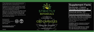 Strictly Botanicals Sleep & Anxiety Kit #1 (500 MG Tincture, Oral Sleep Spritz, 25MG Capsules 30 CT)