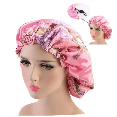 Double Layer Silky Head Wrap
