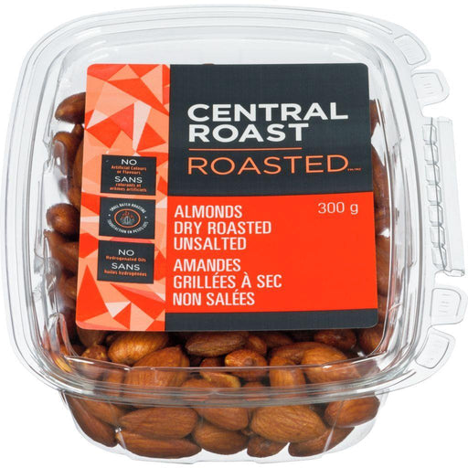 Central Roast Roasted Almonds, Unsalted 300 g Central Roast Couryah