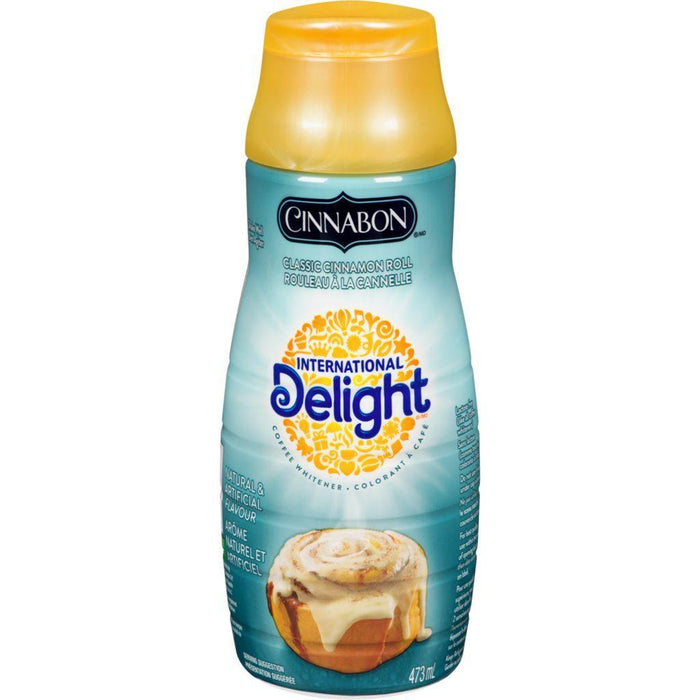 International Delight Coffee Whitener, Cinnabon 473 mL Nestle Couryah