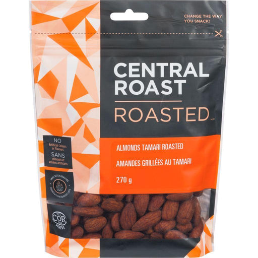 Central Roast Almonds Tamari Roasted 270 g Central Roast Couryah