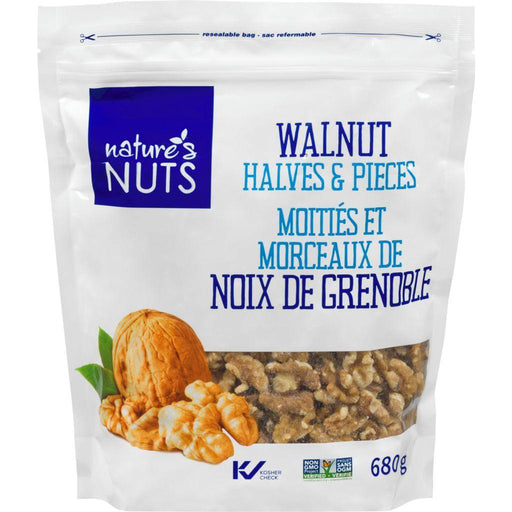 Nature's Nuts Walnuts Halves and Pieces 680 g Royal Nuts Couryah