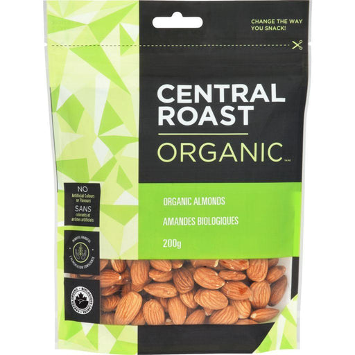 Central Roast Organic Almonds 200 g Central Roast Couryah
