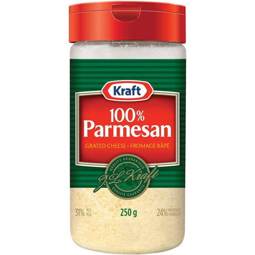 Kraft Grated Parmesan Cheese 250g Kraft Couryah