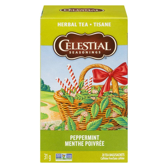 Celestial Seasonings Peppermint Herbal Tea 20 Each 31 g Celestial Seasonings Couryah