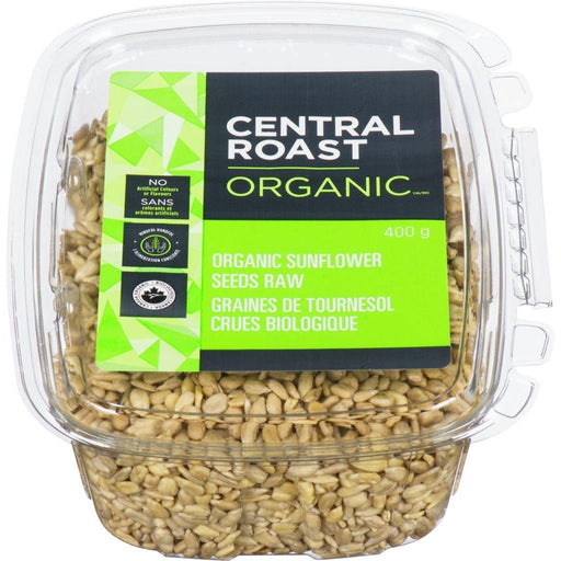 Central Roast Organic Sunflower Seeds 400 g Central Roast Couryah
