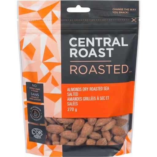 Central Roast Dry Roasted Almonds Salted 270 g Central Roast Couryah