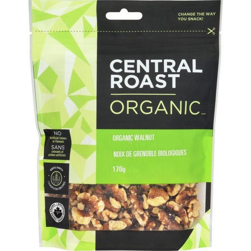 Central Roast Organic Walnut Halves 170 g Central Roast Couryah
