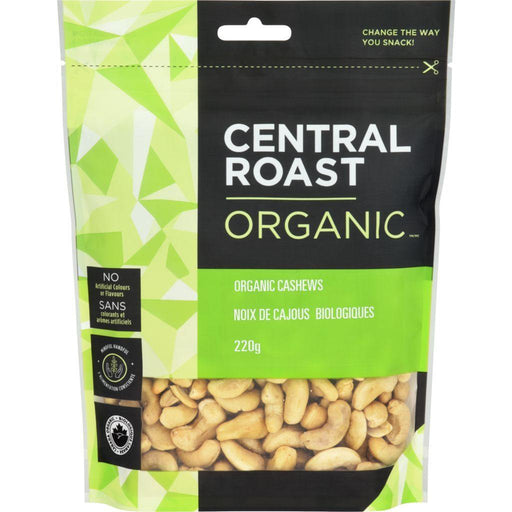 Central Roast Organic Raw Cashews 220 g Central Roast Couryah