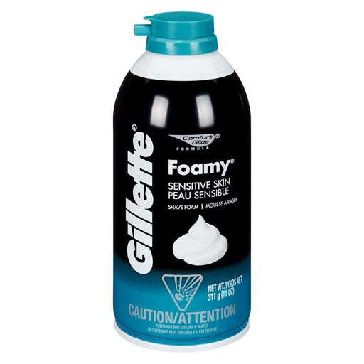 Gillette Foamy Shave Cream, Sensitive 311 g Gillette Couryah